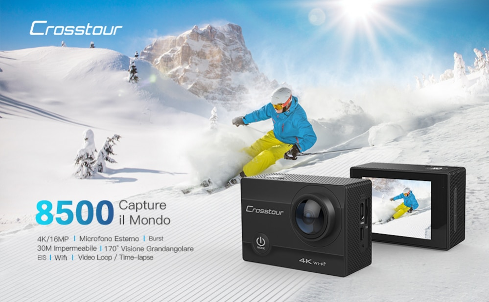 Accessori Crosstour ActionCam: Guida all'Acquisto